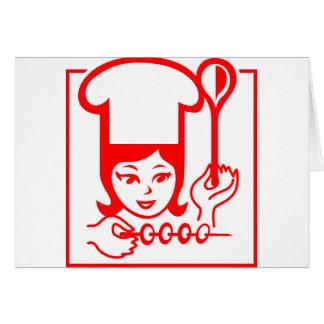 Señora Chef Tarjetón