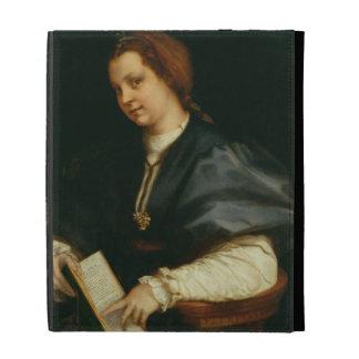 Señora con el libro del verso por Petrarch, c.1514