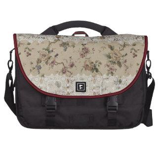 Señora de encaje floral Rickshaw Laptop Bag del vi Bolsa De Ordenador