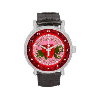 Señora De La Caridad Del Cobre Relojes De Pulsera