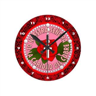Señora De La Caridad Del Cobre Relojes De Pared
