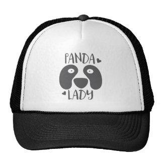 señora de la panda gorras de camionero