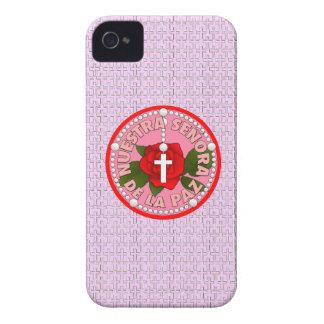 Señora de La Paz Case-Mate iPhone 4 Carcasa