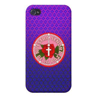 Señora De La Paz iPhone 4/4S Fundas