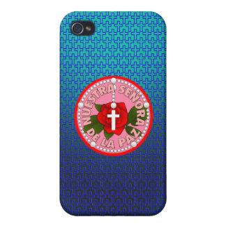 Señora De La Paz iPhone 4 Protectores