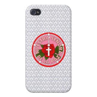 Señora De La Paz iPhone 4 Carcasa