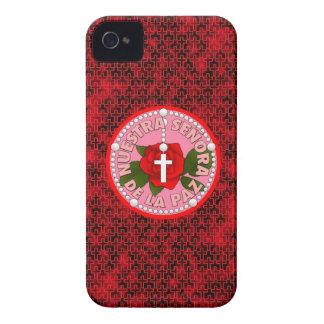 Señora De La Paz iPhone 4 Carcasas