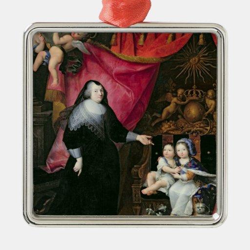 Señora de Lansac y los niños de Francia Ornamentos De Reyes