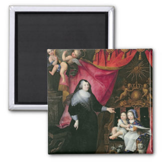 Señora de Lansac y los niños de Francia Imán
