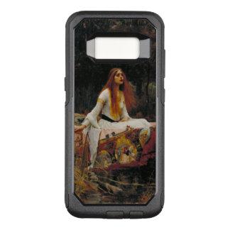 Señora del arte del Pre-Raphaelite del chalote Funda Otterbox Commuter Para Samsung Galaxy S8