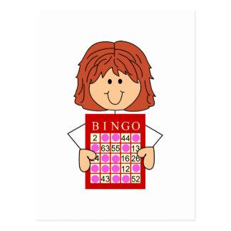 Señora del bingo postal