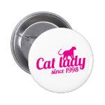 señora del gato desde 1998 pins