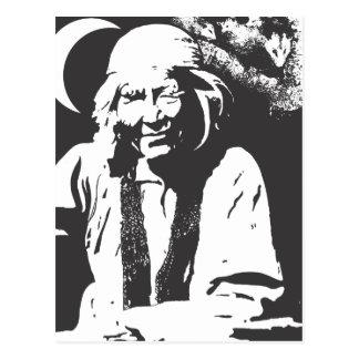 Señora del oposum postal