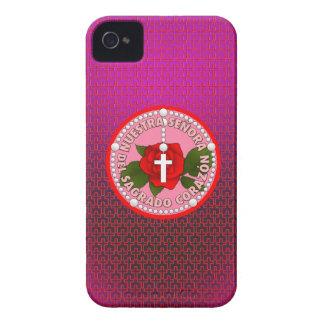 Señora Del Sagrado Corazón iPhone 4 Case-Mate Coberturas