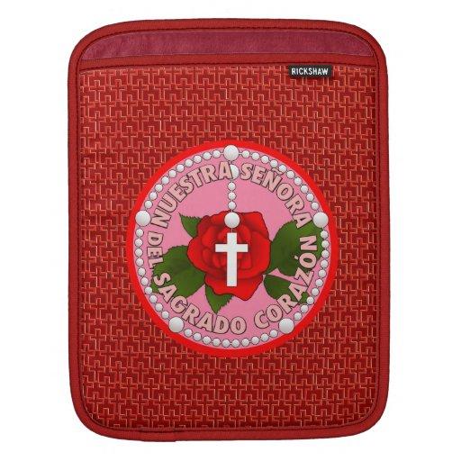 Señora Del Sagrado Corazón Funda Para iPads