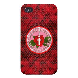 Señora Del Sagrado Corazón iPhone 4 Cárcasa