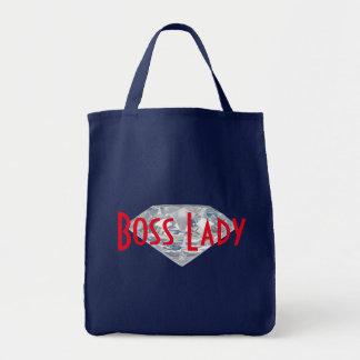 Señora Diamond Grocery Tote de Boss Bolsa Tela Para La Compra