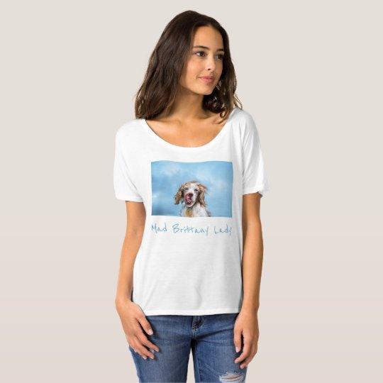 Señora enojada de Bretaña Camiseta
