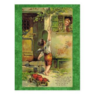 Señora Fair Valentine Postcard Postal