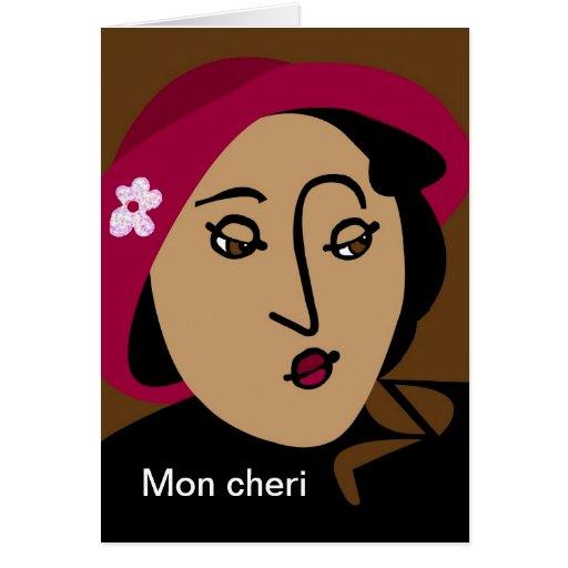 señora francesa felicitacion
