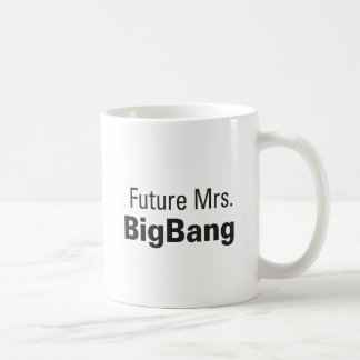 Señora futura BigBang Mug Taza De Café