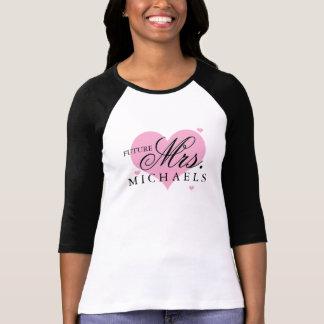 Señora futura camiseta