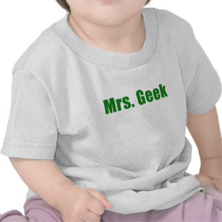 Señora Geek Camiseta