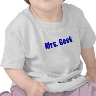 Señora Geek Camisetas