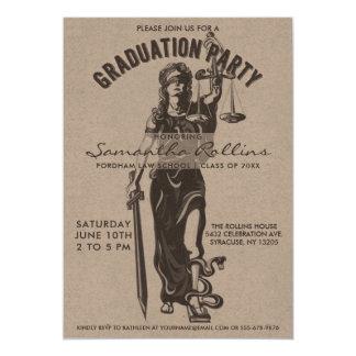 Señora Justice de las invitaciones el   de la Invitación 12,7 X 17,8 Cm