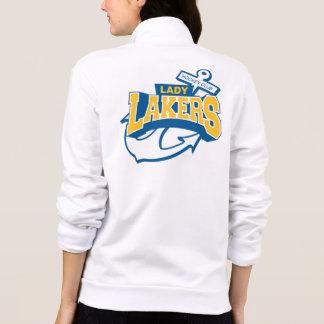 Señora Lakers Chaquetas Imprimidas