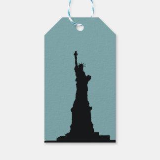 Señora Liberty Gift Tag Etiquetas Para Regalos