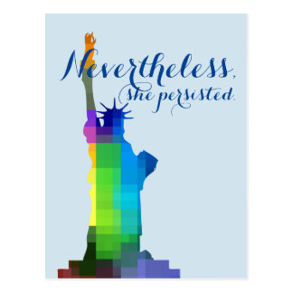 Señora Liberty Persisted Postal