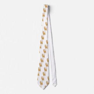Señora loca de la alpaca corbata personalizada
