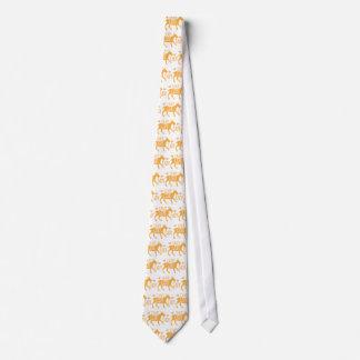 Señora loca de la cabra corbatas personalizadas