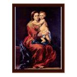 Señora Of The Rosary Tarjetas Postales