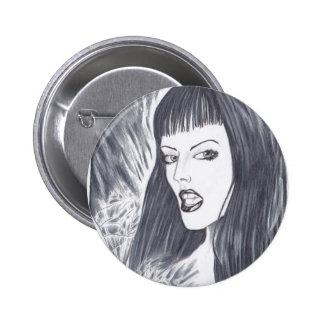 Señora oscura Fantasy Art Pins