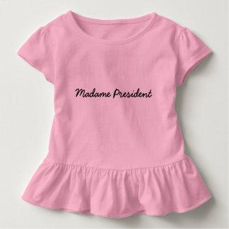 Señora presidente Tee Camiseta De Bebé