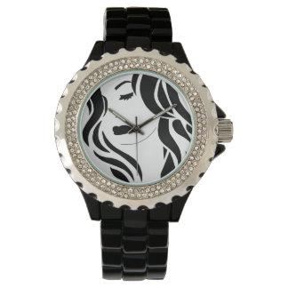 Señora reloj preciosa