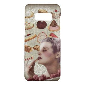 señora retra París de los pasteles de la magdalena Funda De Case-Mate Para Samsung Galaxy S8