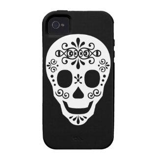 Señora Sugar Skull por las pimientas de Leslie Case-Mate iPhone 4 Funda