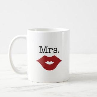 Señora taza de café - boda perfecto, ducha nupcial