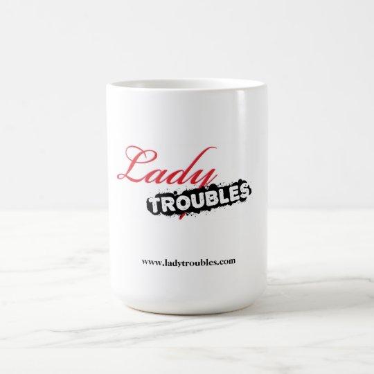 Señora Troubles Logo Mug Taza De Café