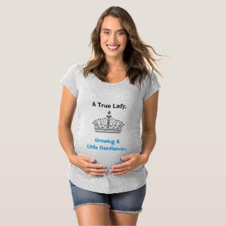 Señora verdadera - camisa de maternidad