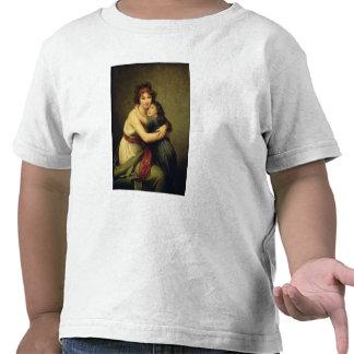 Señora Vigee-Lebrun y su hija Camisetas