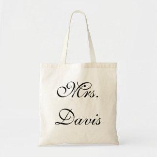 Señora Wedding Bag o tote Bolsa Tela Barata