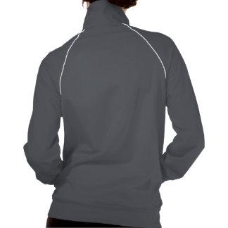 Señoras calientes de la estancia chaqueta imprimida