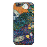 Señoras de Arles, jardín en Etten, Vincent van Gog iPhone 5 Carcasa