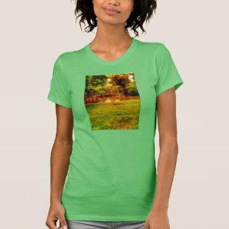 señoras de la camiseta del campanero del lago de