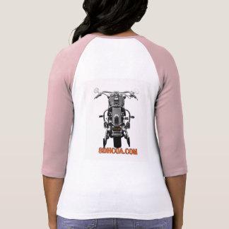 Señoras de SDHCOA 3/4 camiseta de la manga