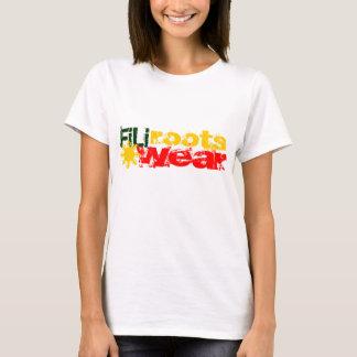 señoras del rasta del filirootswear camiseta